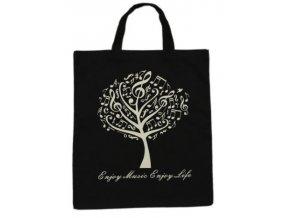 taška hudební strom černá