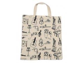 taška s hudebními nástroji