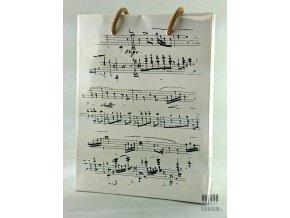 Dárková taška Chopin bílá