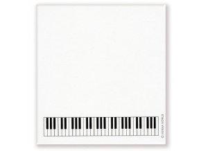 Lepící poznámkový bloček s klaviaturou