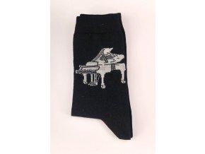 ponožky s klavírem