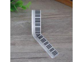 washi páska klaviatura piano