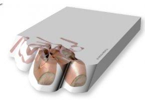 trhací bloček baletní špičky