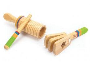 Dřevěný hudební set HAPE