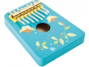 dřevěný hudební nástroj KALIMBA