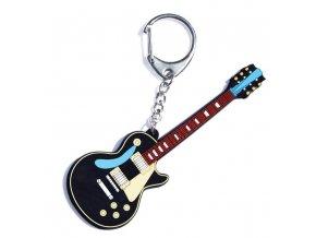 přívěsek na klíče basová kytara