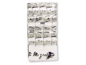 Papírové kapesníčky PARTITURA MOZART