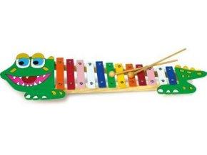 dětský xylofon krokodýl