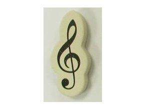 guma ve tvaru houslového klíče