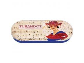 pouzdro na brýle opera turandot