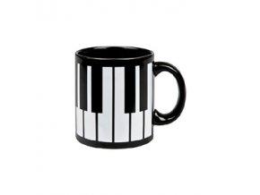 Hrnek klaviatura černý
