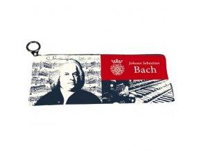 pouzdro penál textilní Bach, hudební skladatel