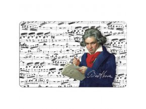 snídaňové prkénko Beethoven, hudební skladatel