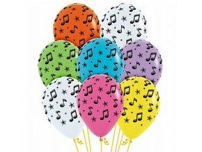 nafukovací balónek HUDBA