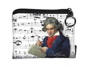 peněženka Beethoven na zip