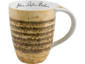 Hrnek s partiturou Bach
