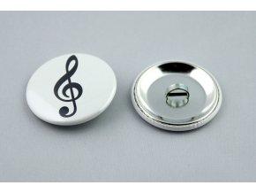 spona na gumičku houslový klíč