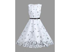 Jemné bílé šaty NOTY