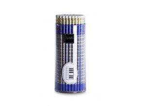 Tužka dřevěná s klaviaturou - modrá