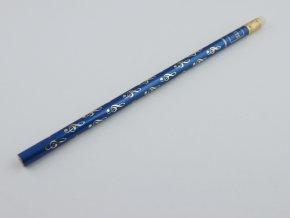 tužka s houslovými klíči modrá