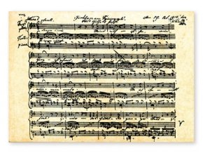 Pohlednice Schubert