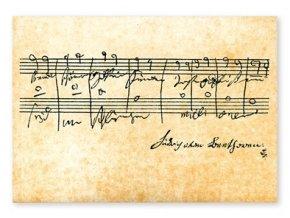 Pohlednice Beethoven