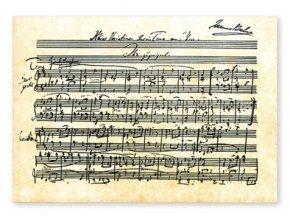 Pohlednice Brahms