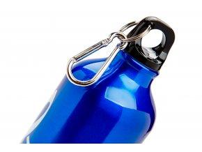 Aluminiová lahev s houslovým klíčem modrá