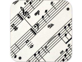podtácek partitura