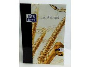 Notový sešit saxofon A4