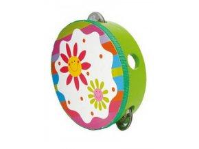 Dětská tamburína květina