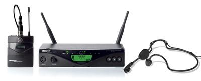 Bezdrátové systémy s náhlavním mikrofonem