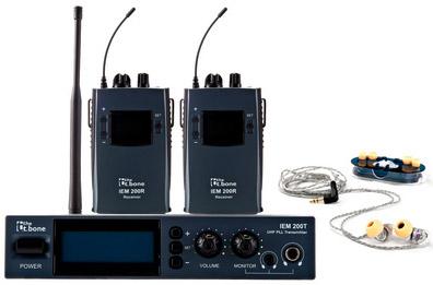 Bezdrátový odposlechový systém/IN-EAR monitoring