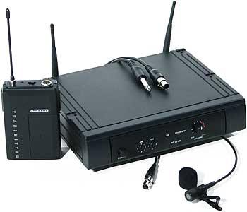 Bezdrátové systémy s klopovým mikrofonem