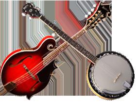 Banjo - Mandolína + ostatní strunné nástroje