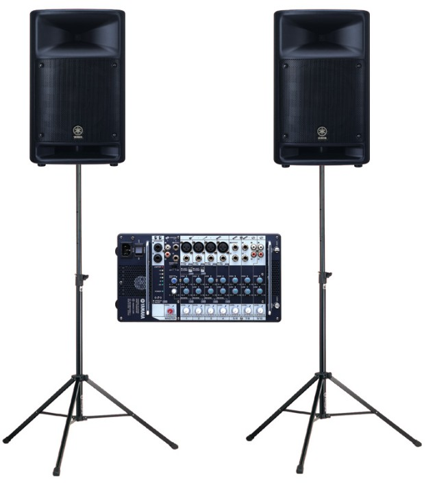 Kompletní ozvučovací sestavy