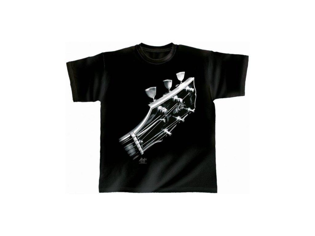 Tričko s hudebním motivem kytary vel. XL - Hudební nástroje Břeclav 4221a50ed5