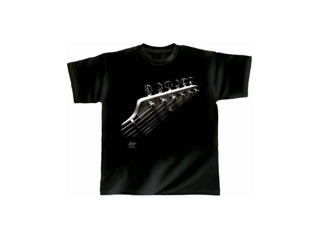 Tričko s hudebním motivem elektrické kytary vel. XL - Hudební ... e7696348cd