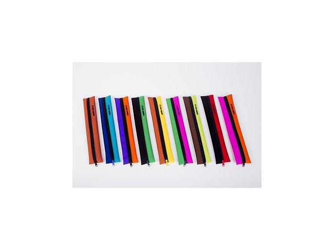 Obal na sopránovou flétnu - černá/růžová