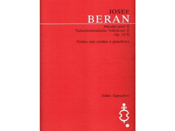 Beran - Národní písně op. 14/II