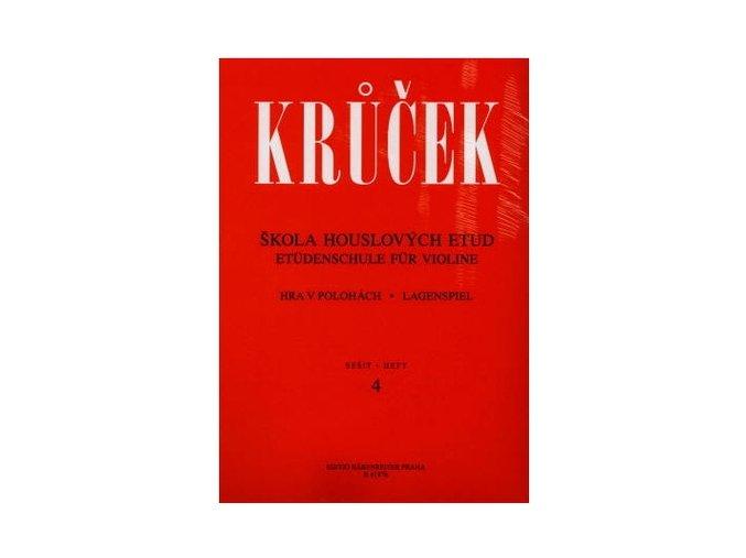 Krůček - Škola houslových etud II (sešit 3+ 4)