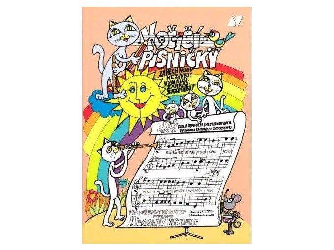 Klemenet - Kočičí písničky - jednoduché skladby pro dvě zobcové flétny