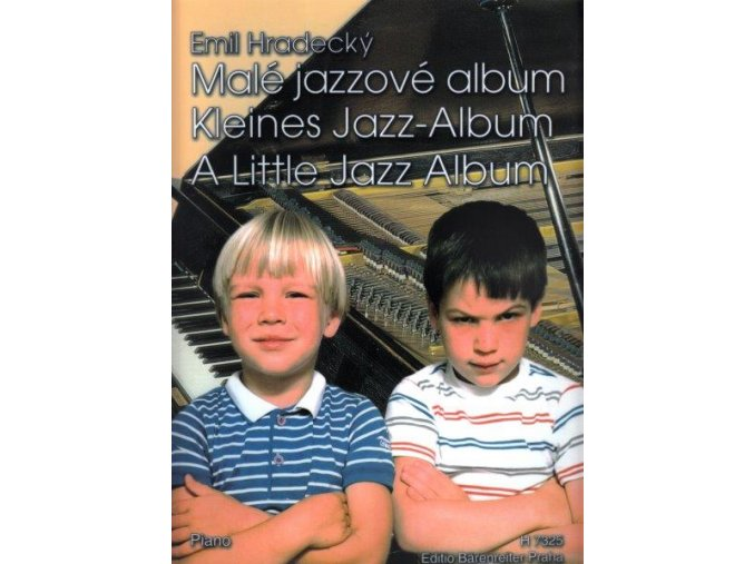 Hradecký - Malé jazzové album (noty, sólo klavír)