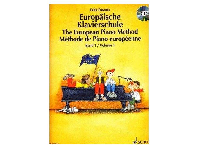 Evropská klavírní škola 1/The European Piano Method v.1