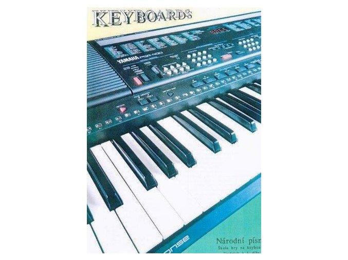 Němec -Národní písně - dodatek k 1. dílu - Škola hry na keyboard