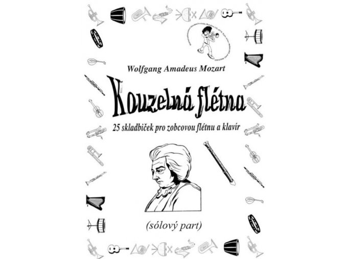 Mozart - Kouzelná flétna - sólo part a klavírní doprovod