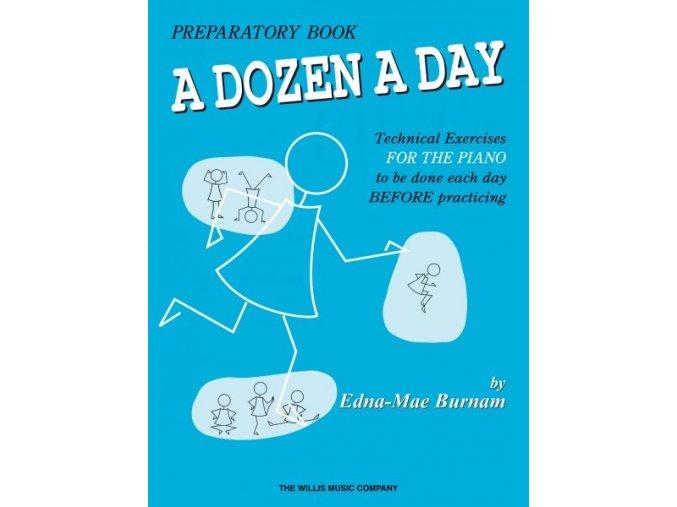 A DOZEN A DAY by Edna-Mae Burnam 1 - Primary/ klavír