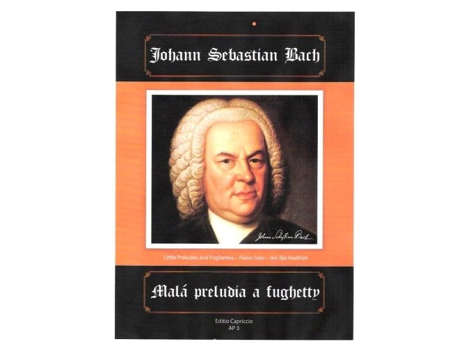 J.S.Bach malá preludia a fughetty