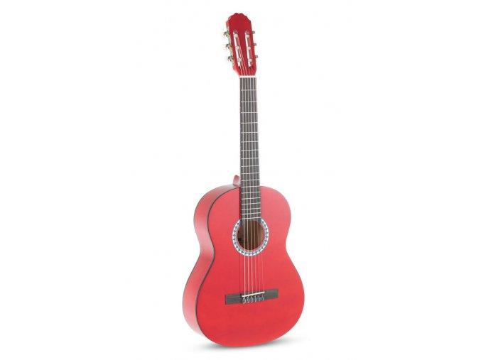 klasická kytara červená GEWA velikost