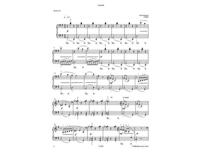 Hradecký - Jazzové kousky pro 20 prstů